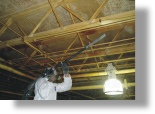 dry ice blasting for removing fire damage