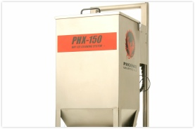 phx-150 dry ice blasting machine from phoenix unlimited