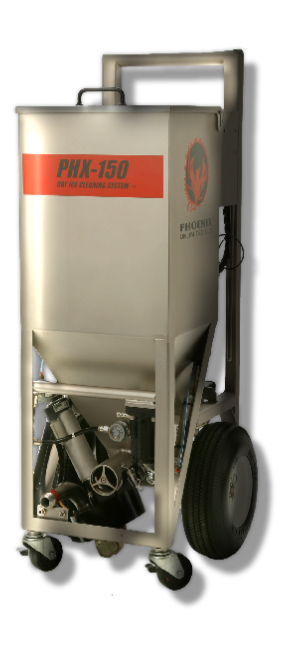 Phoenix PHX-150 Pneumatic Dry Ice Blasting Machine