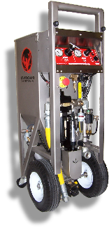 PHX-200 all pnuematic high pressure dry ice blasting machine from phoenix