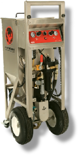 PHX-150 all pneumatic dry ice blasting machine from phoenix